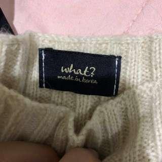 正韓製毛衣 不刺皮膚 保暖