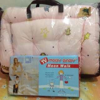 4in1 baby crib bedding & pillow set