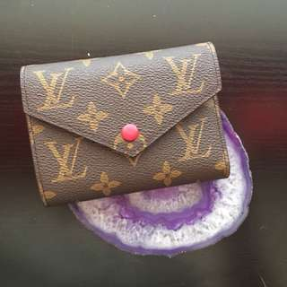 Louis Vuitton Victorine Monogram Compact Wallet