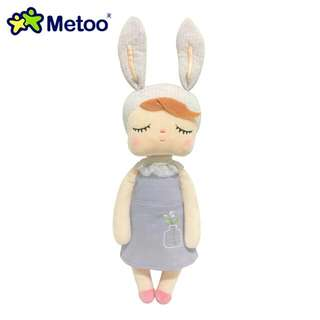 Meeto Angela Doll Plush Soft Toy -white