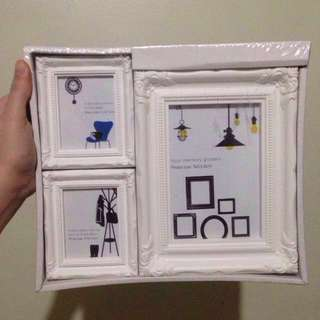 White Picture frames - Check the pics for measurements.