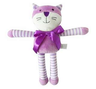 Long-Legged Plush Toy- cat