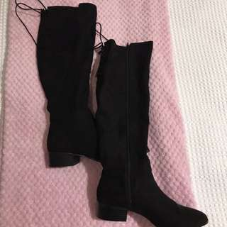 Brand New Black Knee High Boots