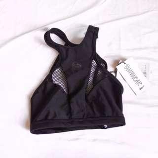 Stussy - Black Mesh Bikini