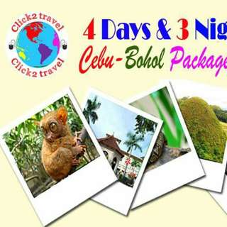 Cebu Bohol combination tours