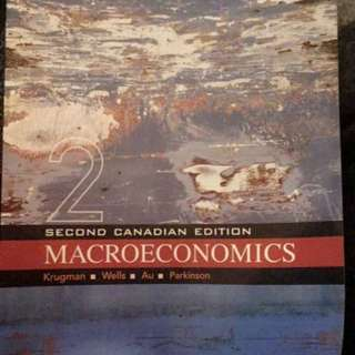 Macroeconomics (2nd Canadian Edition) - Krugman, Wells, Au, Parksinson