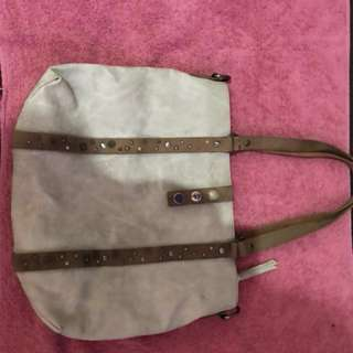 Noosa Amsterdam patterns shopper (light taupe)