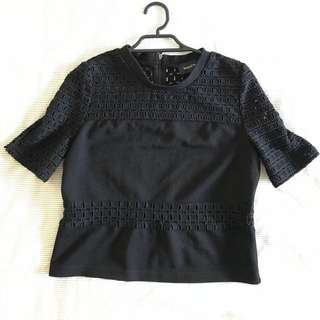 Minkpink Black Crop Top Size XS