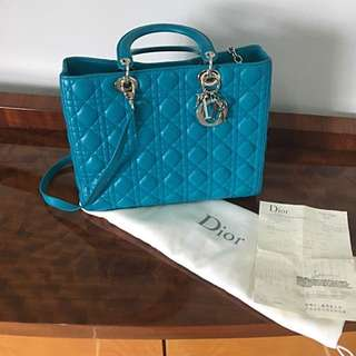 Authentic Lady Dior With Receipt