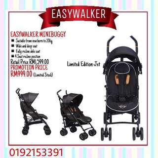 EASYWALKER MINIBUGGY JET ALL BLACK LIMITED EDITION