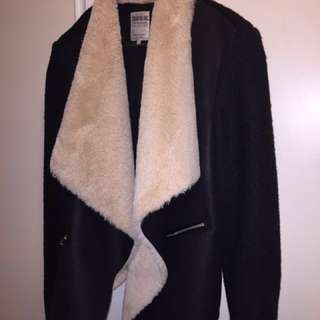 Zara Jacket with faux fur lining