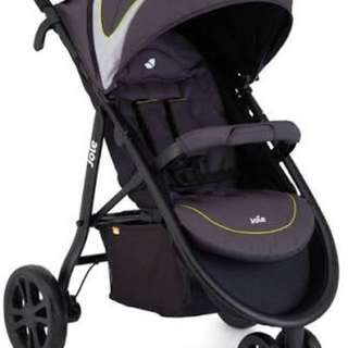 Stroller Joie Litetrax 3 with gemm (infant carseat)