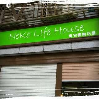 <新竹貓旅館> NeKo Life 寓宅貓樂活屋,住宿優惠預約中