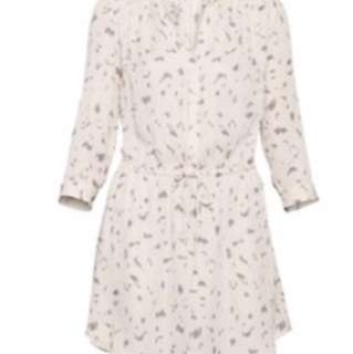 Aritzia - Babaton silk shirt dress small