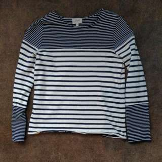 SEED HERITAGE Stripe Top in XS | RRP $60