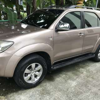 Toyota Fortuner 2007 G Diesel Automatic Low Mileage