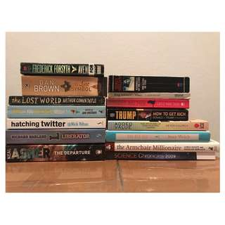 Assorted New and Used books for sale
