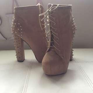 Ladies studded heels