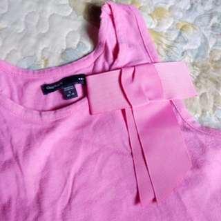 Gap kids sleeveless top with bow