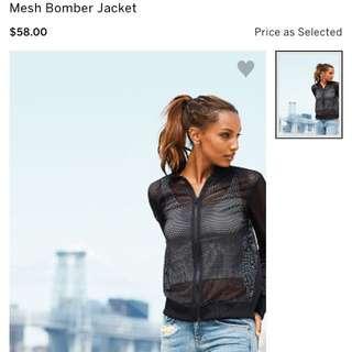 VS Mesh Bomber Jacket
