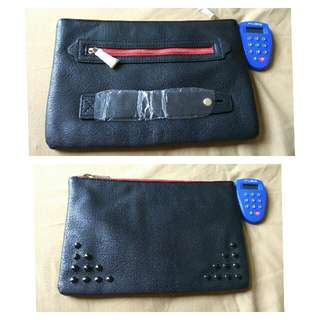 Hush Puppies Clutch / Dompet /wallet Black