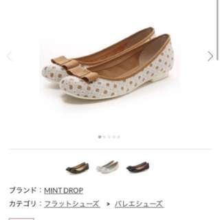 日本購入🇯🇵靚靚舒服水玉平底鞋健康鞋少高超正 L size
