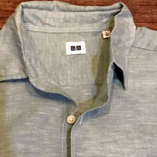 UNIQLO Linen Men's Shirt