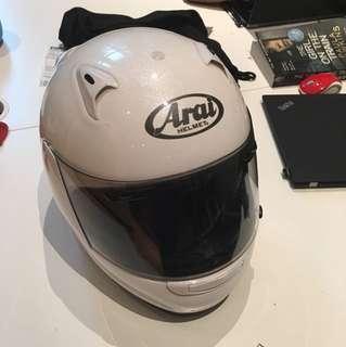 Arai M2005 Snell Helmet Pearl Finish