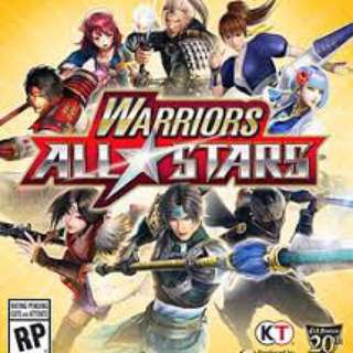 PS4: Warrior All Star