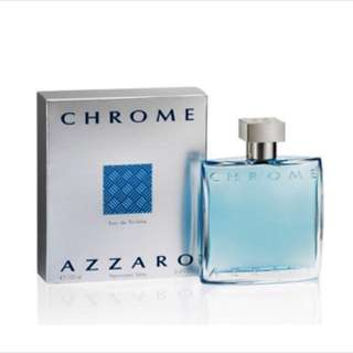 Azzaro Chrome Authentic ✅ 100ml