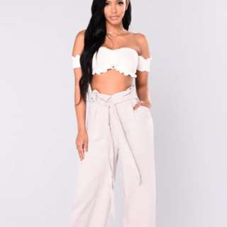 Fashion Nova high waisted pants