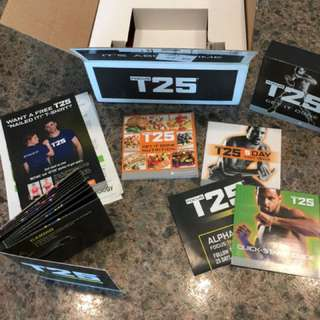 New Shaun T Beachbody T25 with Bands