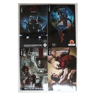 Divinity, 4 volumes graphic novel