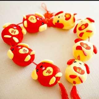 Chinese New Year Dog Plush