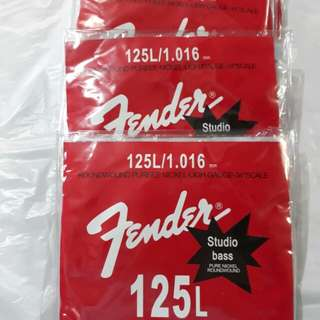 Fender electric bass string
