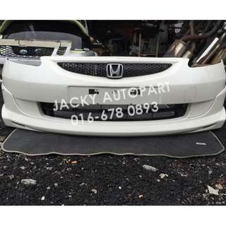 Bumper Depan Modulo vv Honda Jazz Fit Gd3 Japan