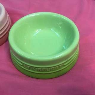二手:Le Creuset 狗碗(綠色、S號)