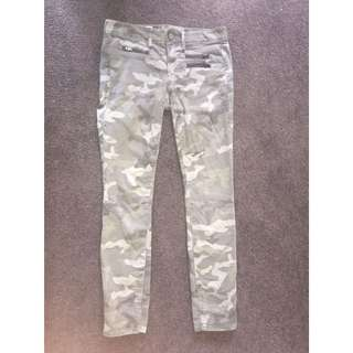 Camo jeans from Gap