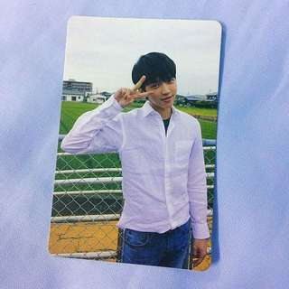 "Nam Woohyun ""The 1st Mini album Write"" official photocard"
