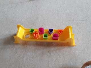 Puzzle Bentuk Shapes