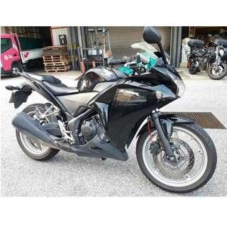 2012 Honda CBR250 R (Jul 2012)
