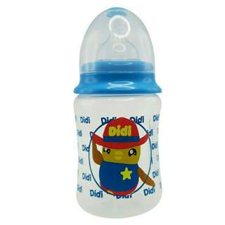 *FREE DELIVERY to WM only / Ready stock*  8oz Didi & friends baby bottle BPA free as shown design/color. Free delivery is applied for this item.