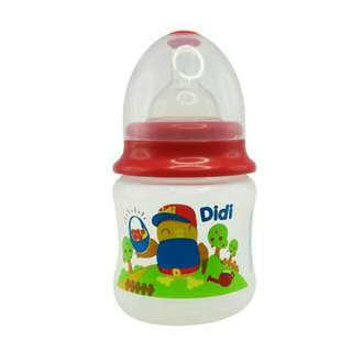 *FREE DELIVERY to WM only / Ready stock*   Didi & friends baby bottle 5oz BPA free as shown design/color. Free delivery is applied for this item.