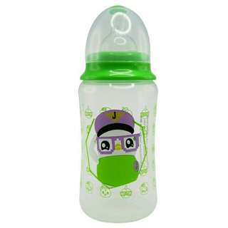 *FREE DELIVERY to WM only / Ready stock*   Didi & friends baby wide neck bottle 12oz BPA free as shown design/color. Free delivery is applied for this item.
