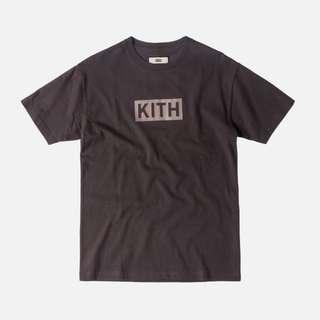 KITH Classic Logo Tee Battleship Grey S