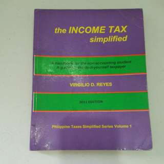 The Income Tax Simplified