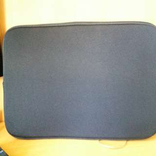 14吋 純色 純黑 手提電腦袋 電腦袋