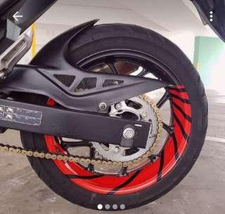 Rim Wrap Bike