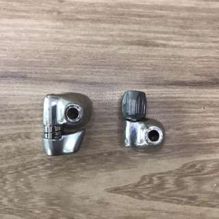 Shimano downtube cable router
