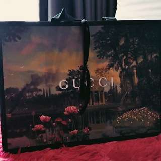 2017-18 latest Gucci paperbag
